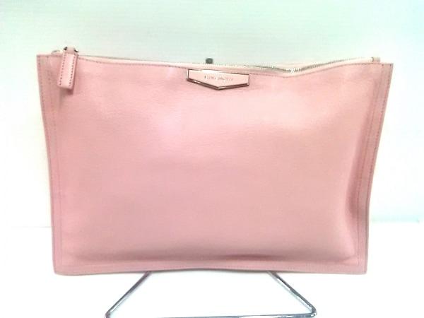 GIVENCHY(ジバンシー) クラッチバッグ美品  アンティゴナ ピンク レザー