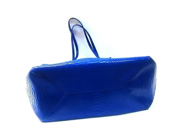 FolliFollie(フォリフォリ) トートバッグ ブルー レザー