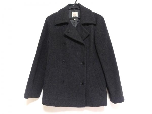 FIGARO(フィガロ) コート サイズ40 M レディース美品  ダークグレー 冬物/ショート丈