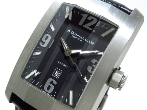 dunhill/ALFREDDUNHILL(ダンヒル) 腕時計 ダンヒリオン 8040 メンズ 革ベルト 黒