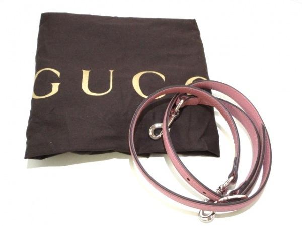 GUCCI(グッチ) ハンドバッグ美品  バンブーデイリー 392013 ピンク レザー