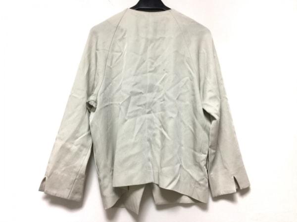GALLARDAGALANTE(ガリャルダガランテ) ジャケット サイズF レディース ライトグレー