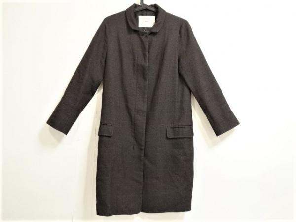 メーアエンタープライズ コート レディース美品  黒×ダークグレー 春・秋物
