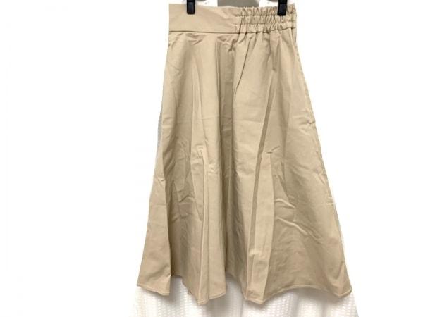 FRAY I.D(フレイアイディー) ロングスカート サイズfree F レディース美品  ベージュ