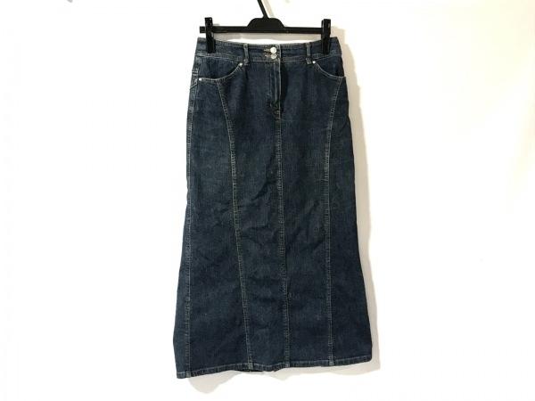 SONIARYKIEL(ソニアリキエル) ロングスカート サイズ36 S レディース ネイビー デニム