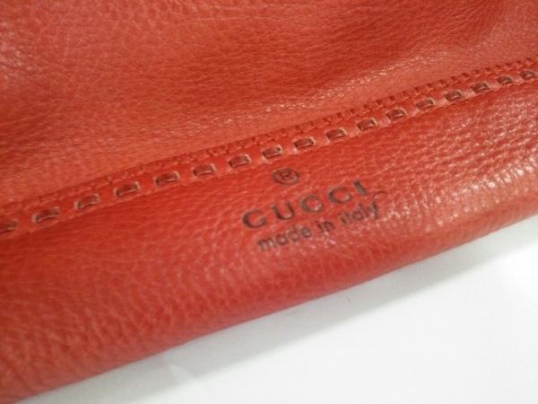 GUCCI(グッチ) トートバッグ美品  - 339000 オレンジ レザー