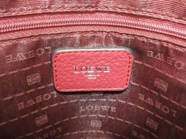 LOEWE(ロエベ) ハンドバッグ - レッド レザー