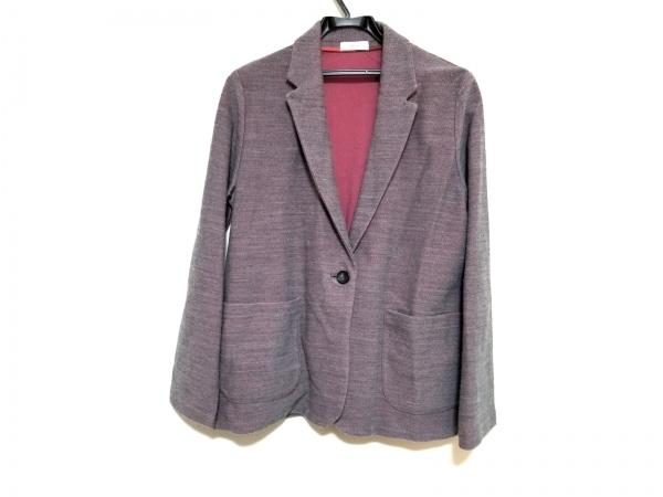 PaulSmith(ポールスミス) ジャケット サイズXL レディース美品  グレー×ピンク