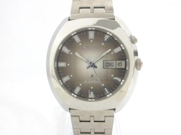 ORIENT(オリエント) 腕時計 Crystal 21 JEWELS EM2V-C0 メンズ ダークグレー
