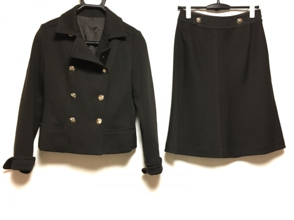 Leilian(レリアン) スカートスーツ サイズ9 M レディース 黒