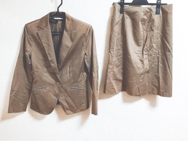 組曲 KUMIKYOKU(クミキョク) スカートスーツ サイズ2 M レディース ブラウン