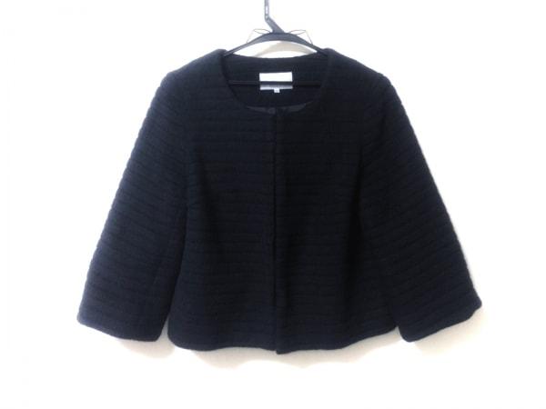M-PREMIER(エムプルミエ) コート サイズ38 M レディース美品  黒 ショート丈/冬物