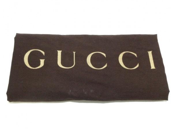 GUCCI(グッチ) トートバッグ シマライン 269953 ベージュ レザー