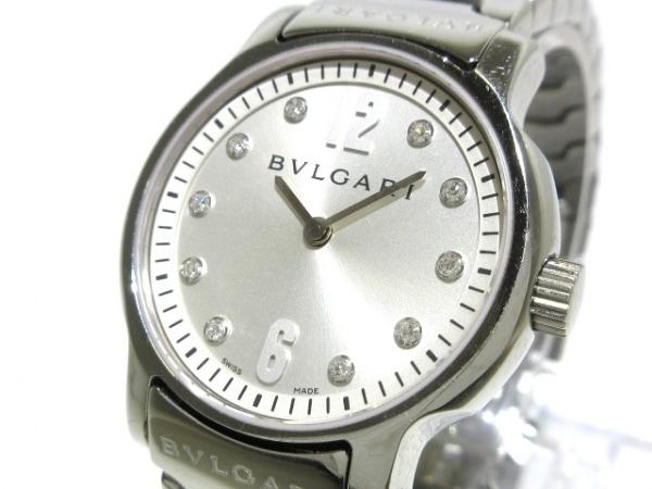 BVLGARI(ブルガリ) 腕時計 ソロテンポ ST29S レディース 10Pダイヤインデックス