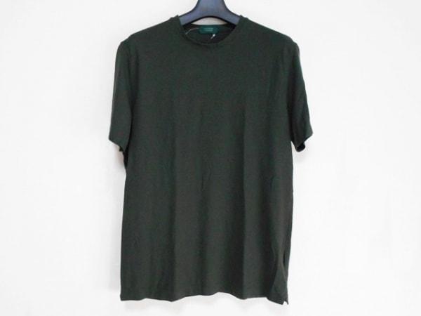 ZANONE(ザノーネ) 半袖Tシャツ サイズ50 メンズ ダークグリーン