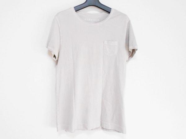 CIRCOLO1901(チルコロ) 半袖Tシャツ サイズS メンズ ライトグレー