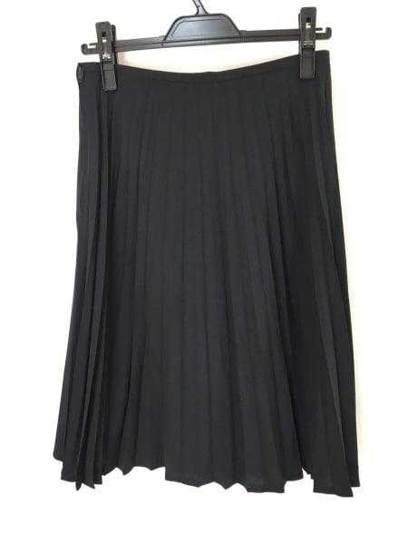 DRESSTERIOR(ドレステリア) スカート サイズ42 L レディース美品  黒 プリーツ