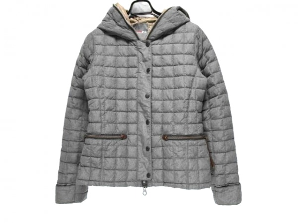 デュベティカ ダウンジャケット サイズ40 M レディース IONDUE ダークグレー 冬物