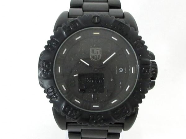 ルミノックス 腕時計美品  ESSENTIAL GEAR(エッセンシャルギア) 3152 BO メンズ 黒