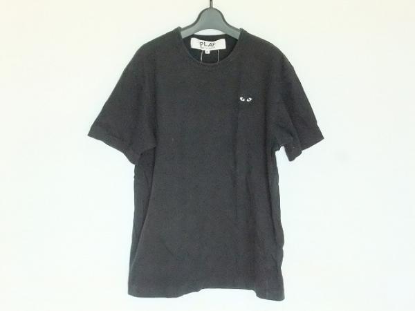 PLAY COMMEdesGARCONS(プレイコムデギャルソン) 半袖Tシャツ サイズM メンズ 黒