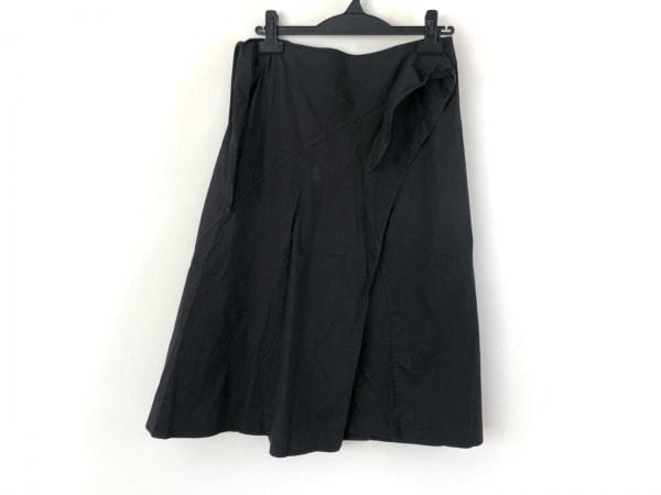 JILSANDER(ジルサンダー) 巻きスカート サイズ36 S レディース美品  黒