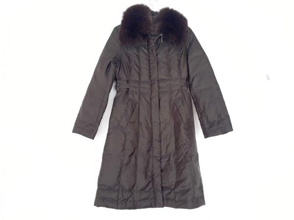 BALLSEY(ボールジー) ダウンコート サイズ38 M レディース美品  ダークブラウン