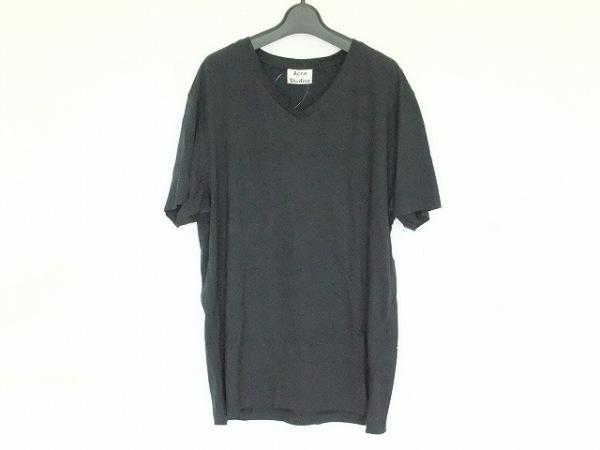 ACNE STUDIOS(アクネ ストゥディオズ) 半袖Tシャツ サイズM メンズ ダークネイビー