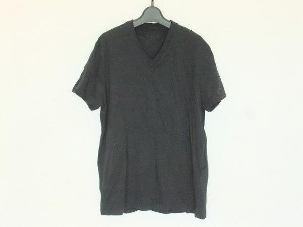 PRADA(プラダ) 半袖Tシャツ サイズM メンズ 黒