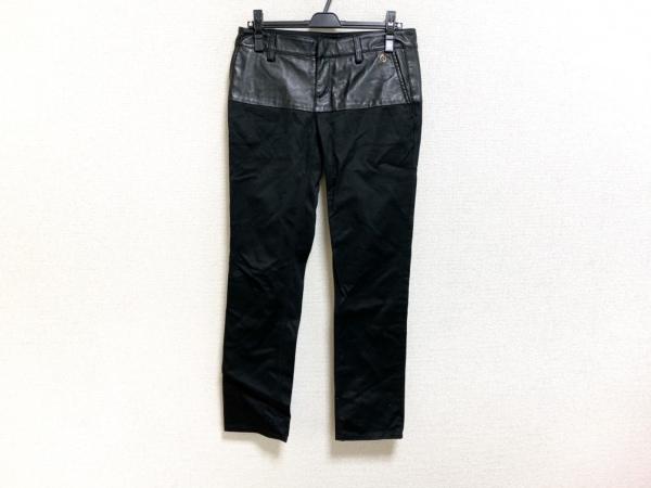 GUCCI(グッチ) パンツ サイズ40 M レディース 黒 レザー