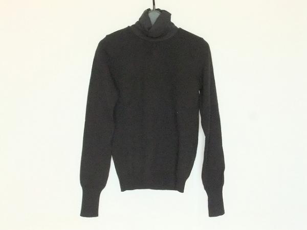 アンナモリナーリ 長袖セーター サイズ40 M レディース 黒 タートルネック