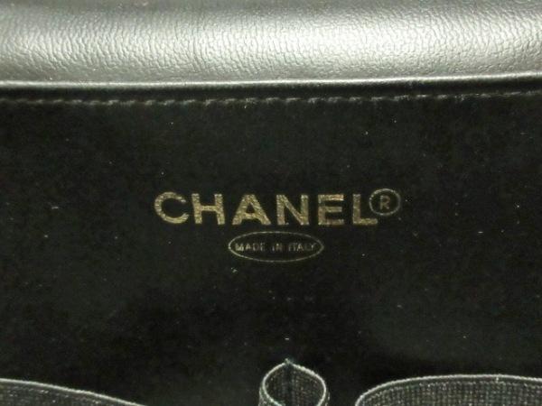 CHANEL(シャネル) バニティバッグ キャビアスキン 黒 キャビアスキン 7