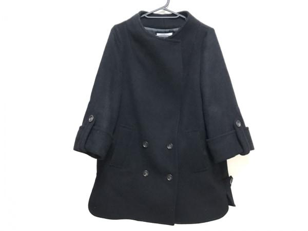 aquagirl(アクアガール) コート サイズ38 M レディース新品同様  黒 冬物