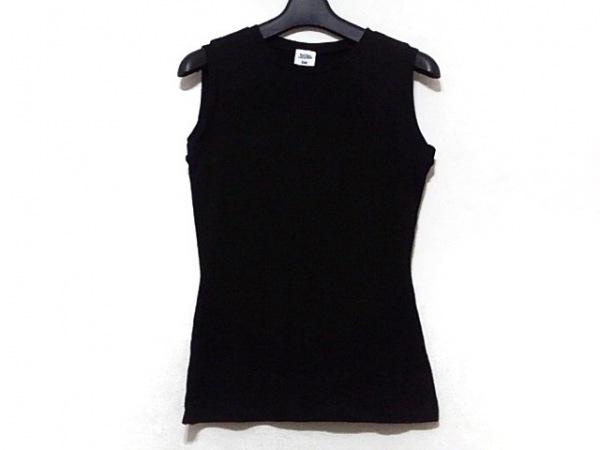 JeanPaulGAULTIER(ゴルチエ) ノースリーブTシャツ サイズ40 M レディース美品  黒