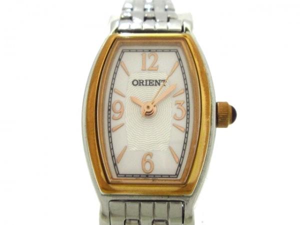 ORIENT(オリエント) 腕時計 - レディース 白×シルバー
