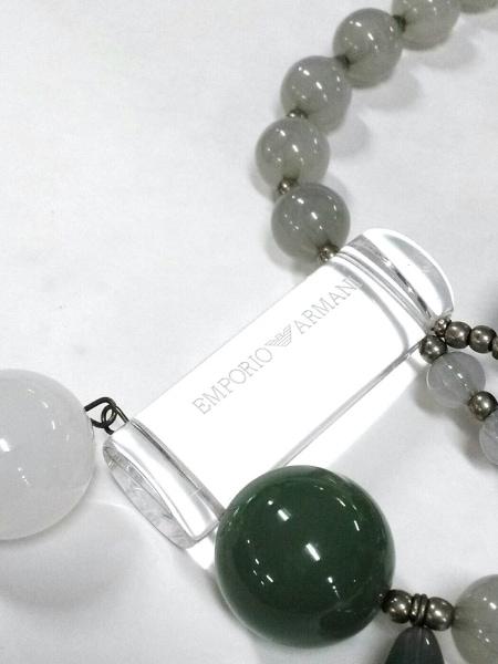 EMPORIOARMANI(エンポリオアルマーニ) ネックレス美品  プラスチック×金属素材