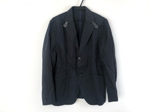 ティーケータケオキクチ ジャケット サイズ3 L メンズ ダークネイビー×ブルー
