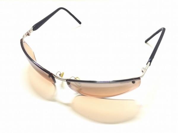キラーループ サングラス レッド×シルバー×黒 プラスチック×金属素材×ラバー