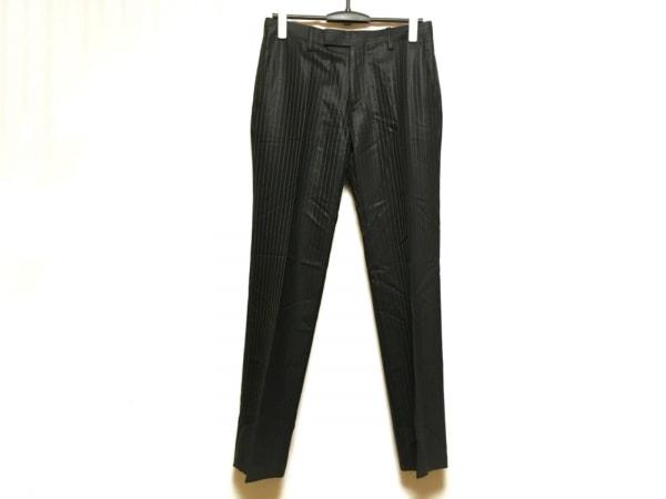 カルバンクライン パンツ サイズ30 メンズ美品  ダークネイビー ストライプ