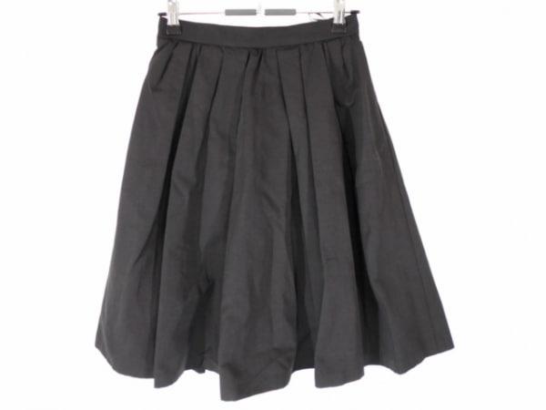 アプワイザーリッシェ スカート サイズ1 S レディース美品  黒 ジップアップ