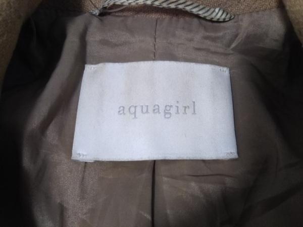 aquagirl(アクアガール) コート サイズ38 M レディース ベージュ 冬物