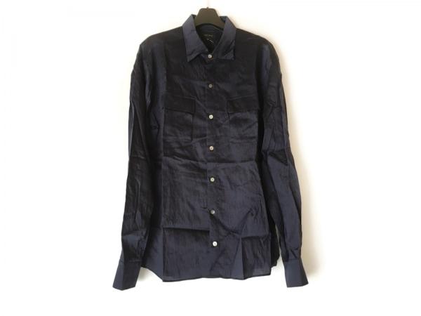 JOSEPH HOMME(ジョセフオム) 長袖シャツ サイズ50 メンズ ネイビー