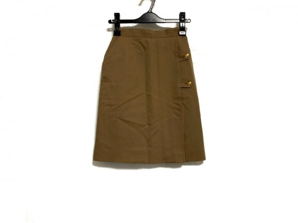 Burberry's(バーバリーズ) スカート サイズS レディース美品  ブラウン