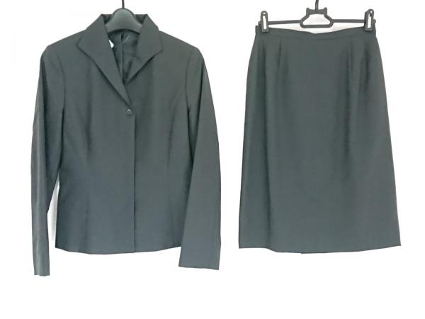 NEW YORKER(ニューヨーカー) スカートスーツ レディース美品  ダークグレー