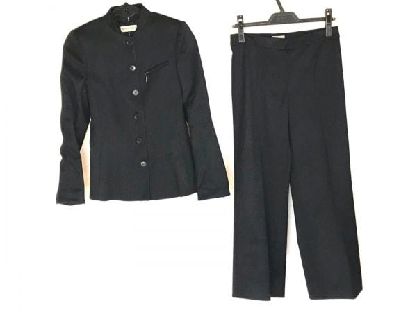 エンポリオアルマーニ レディースパンツスーツ サイズ36 S レディース 黒 肩パッド