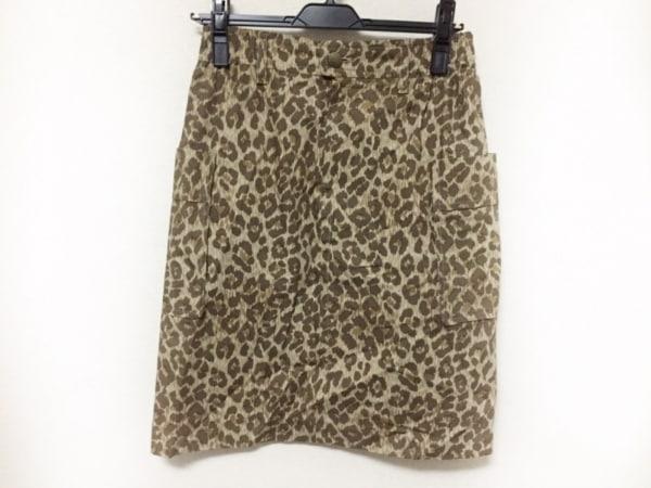 DRESSTERIOR(ドレステリア) スカート サイズ38 M レディース美品  豹柄