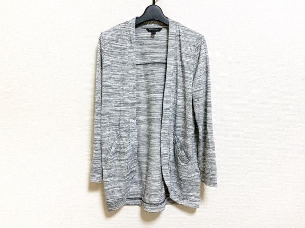 バナナリパブリック ジャケット サイズS メンズ美品  グレー×黒×白