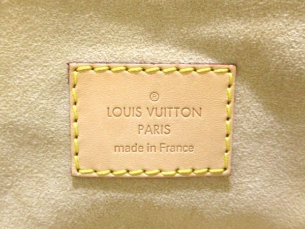 LOUIS VUITTON(ルイヴィトン) ハンドバッグ モノグラム美品  パラス M50066 デュンヌ