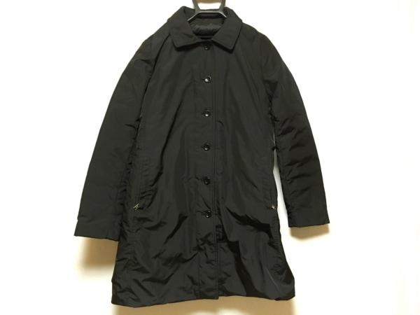 SEVENTY(セブンティ) ダウンコート サイズ44 L レディース 黒 リバーシブル/冬物