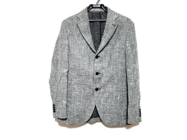 Cantarelli(カンタレリ) ジャケット サイズ46 XL メンズ美品  黒×白