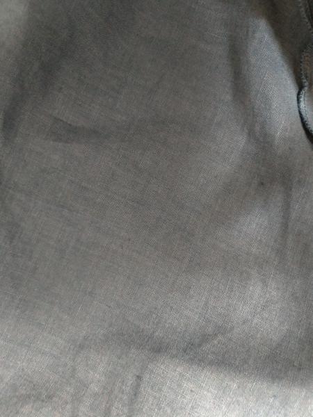 three dots(スリードッツ) スカート レディース ネイビー 変形デザイン